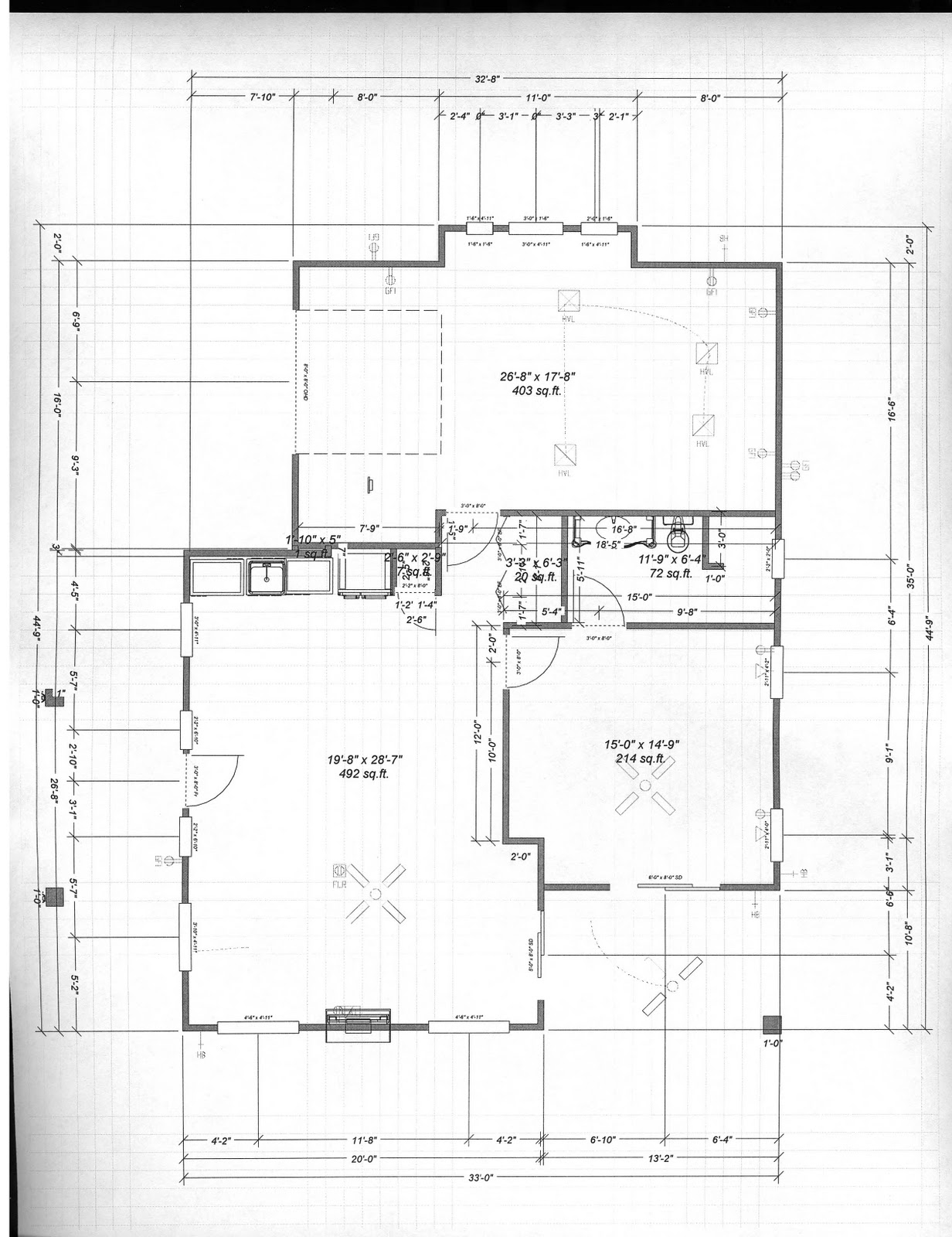 Antique Style Casita Design Floor Plan