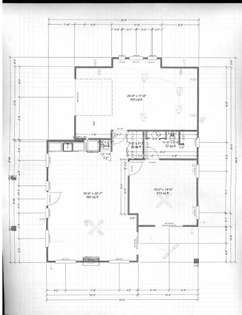Antique Style Casita Design Floor Plan
