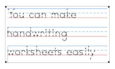 Make your own printable handwriting worksheets | A to Z Teacher ...