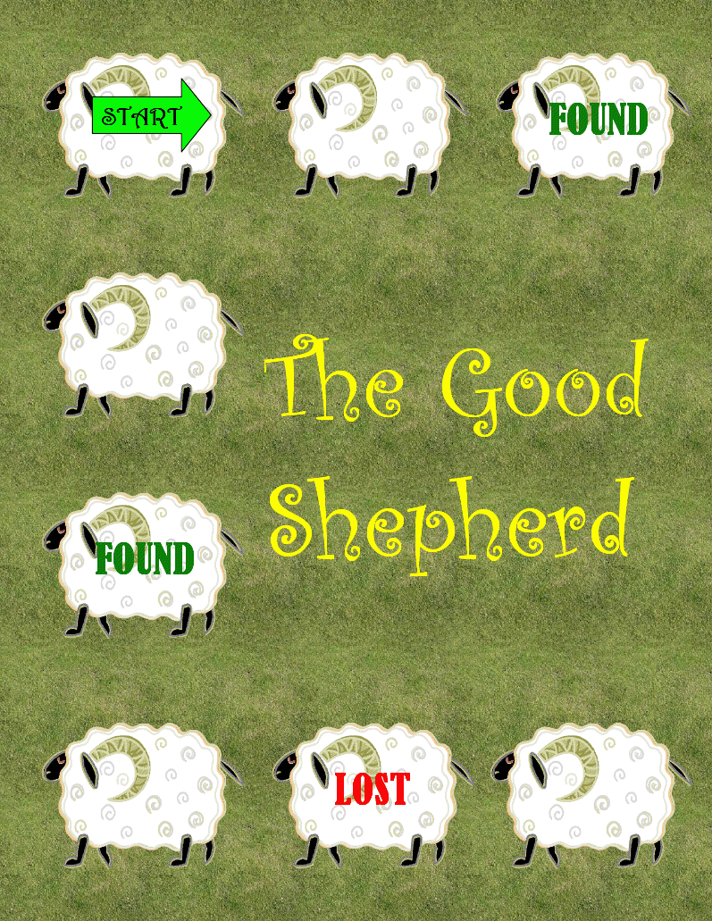 the catholic toolbox the good shepherd file folder game