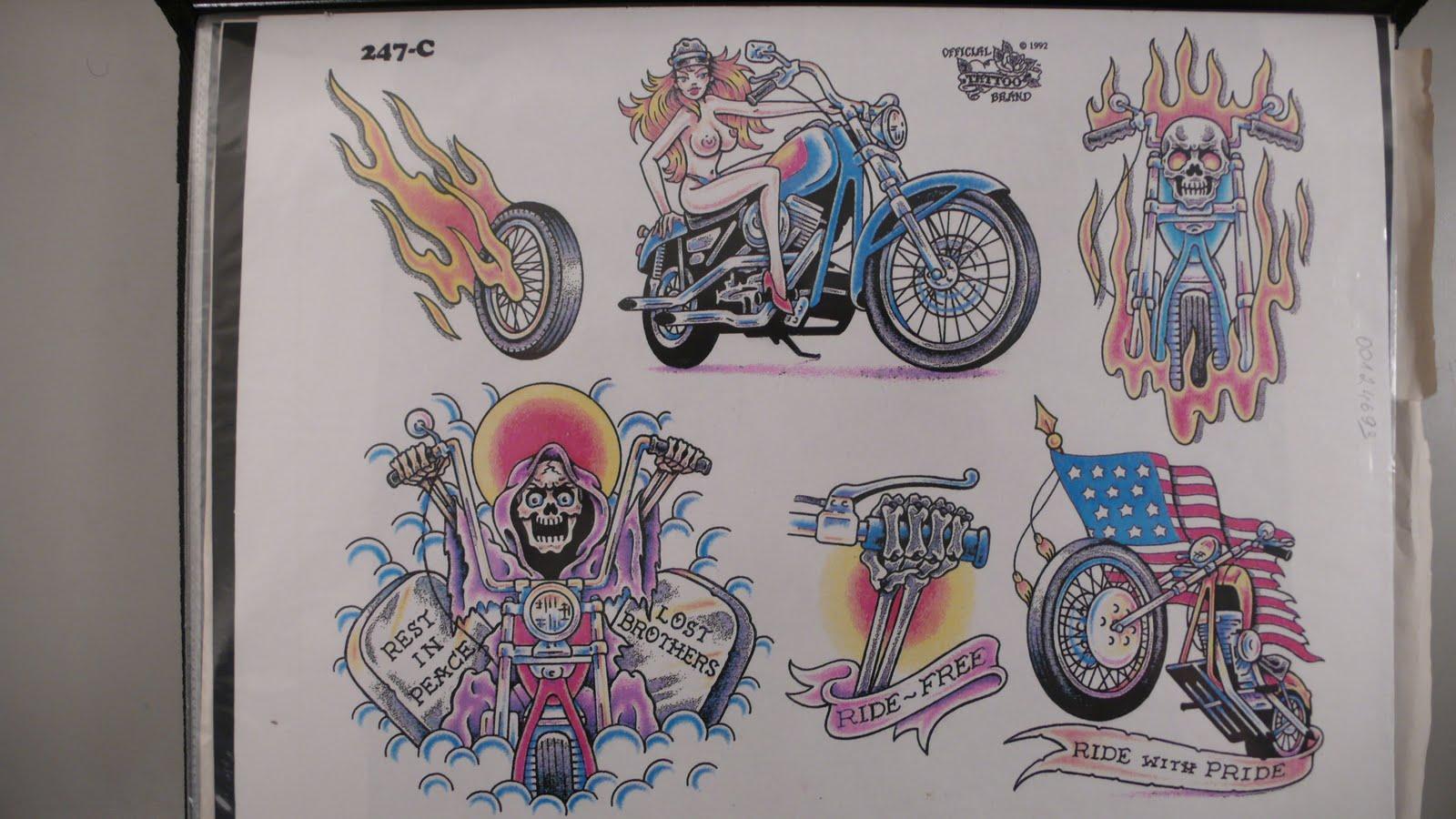 Татуировки для гонщиков фото