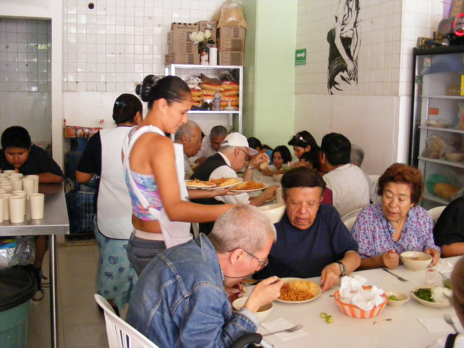 Dining At The Community Eatery For Social DevelopmentMexico City Brother Can You Spare Ten PesosMexico Citys Rather Tasty Proposal