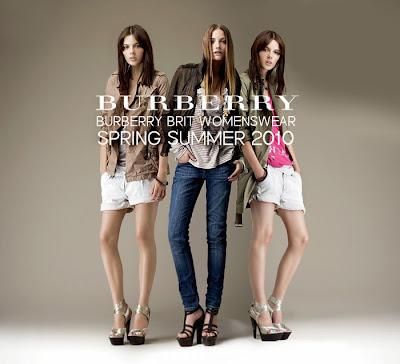 Burberry Brit Womenswear Spring