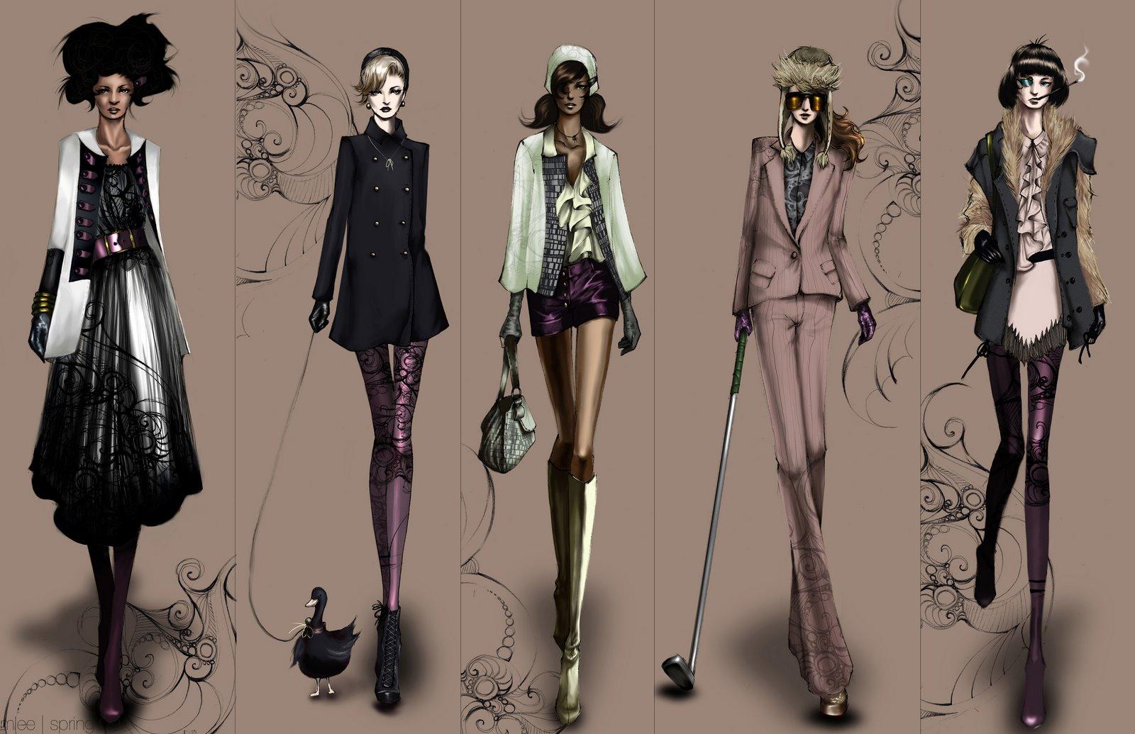 Fashion designers fashion design style ideas for Fashion style wallpaper