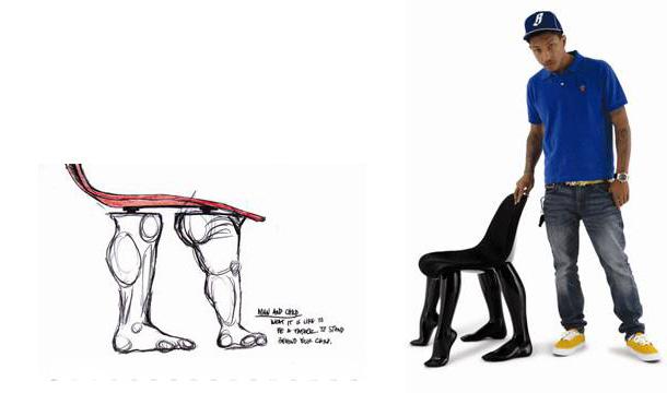 Pharrell williams for modern painting design scene fashion photography - Pharrell williams design ...
