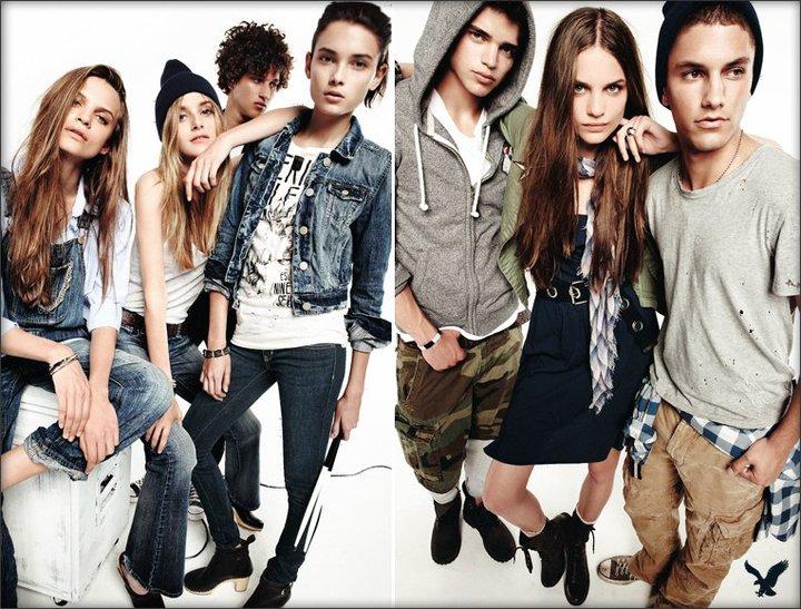 American eagle jeans by nagi sakai for American ad agencies