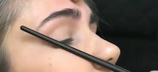 sobrancelhas maquilhagem