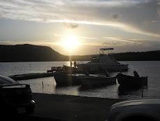 Atardecer en el Malecón de Guánica