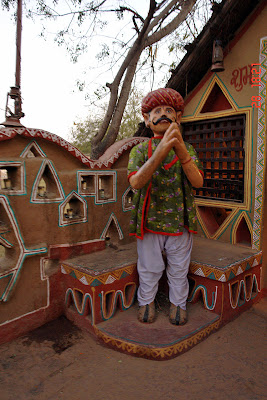 Chokhi Dhaani in Jaipur - Welcoming visitors to the village