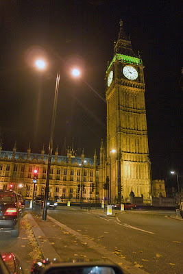 Photo of Big Ben by night - Well lighted up and an important tourist attraction