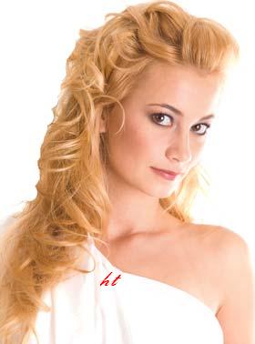 black hair styles strawberry blonde hair color