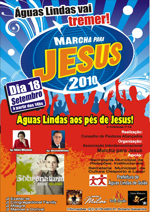 Marcha pra Jesus 2010