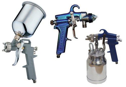 Pistola para pintar paredes con compresor de aire