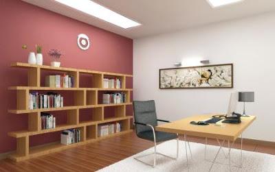 El color de los muebles para oficina que elija tiene que complementar el color que escoja para las paredes en su despacho. Una oficina puede parecer muy