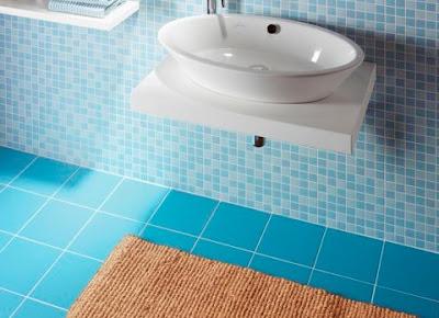 Pintar Baldosas De Baño | Pintando Sobre Azulejos Y Ceramicos Pintomicasa Com