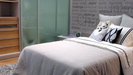 De qu color pinto para que mi casa se vea elegante - Camera da letto moderna piccola ...