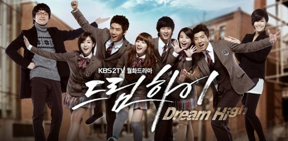"DREAM HIGH"" KOREAN DRAMa"