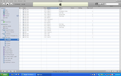 Itunes Screenshot of WWI Oral Tests