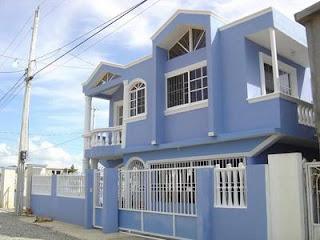 Eph m res de outremer la maison bleue - Chanson une maison bleue ...