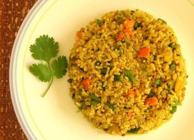 Squaky Blog: Indian-Style Vegetable Rice