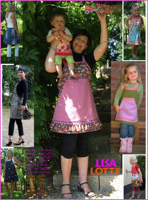 Mamu Design: LISALOTTE, frech, verspielt, feminin...