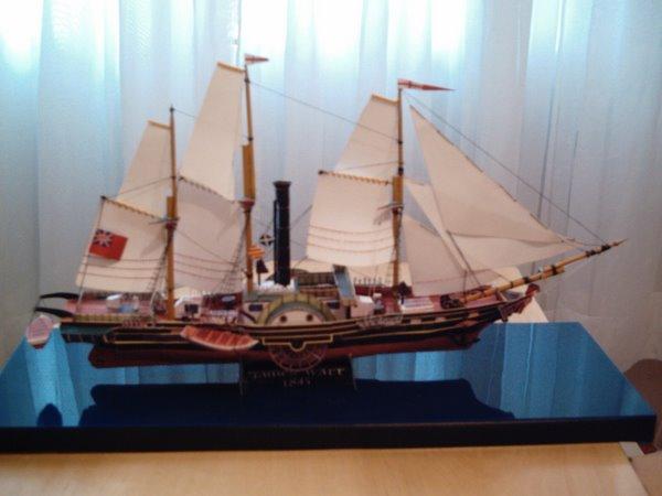 Navio vapor James Watt