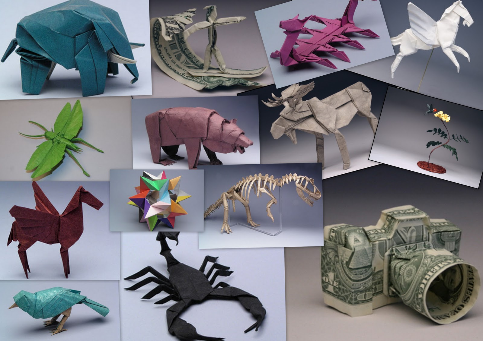 Artist Of The Week Robert J Lang Origami Genius