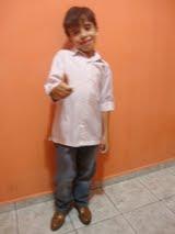 Meu caçula Edval - 7 anos!