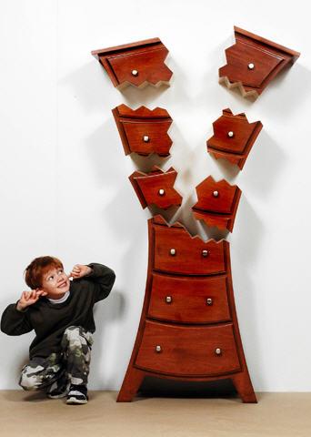 Ett hus i ei rekke: møbler til barnerommet