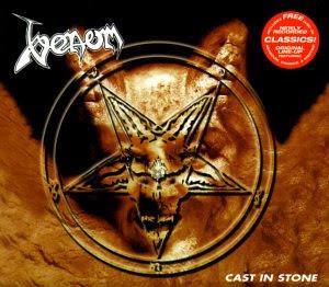 VENOM - Cast In Stone [Full Album + Bonus cd] HQ