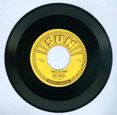 Elvis Presley That's All Right Original 45 Record