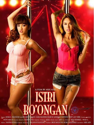 sexy Julia Perez (not bugil) and Istri Bo'ongan film review