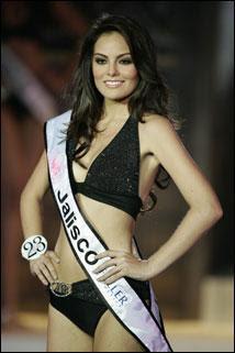 Miss Mexico Jimena Navarette in a bikini