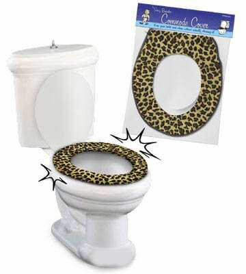 Shit I D Never Buy Leopard Print Toilet Seat Cover