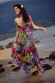Vestido lindo para Praia