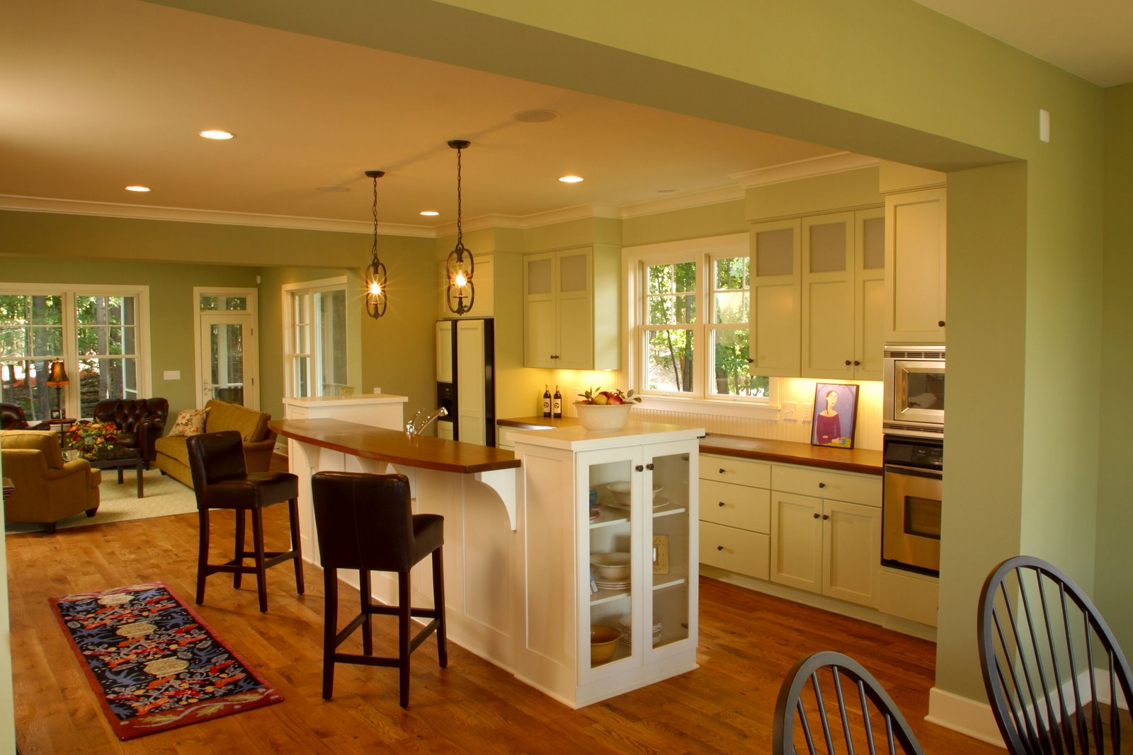Small Kitchen Ideas Open Floor Plan