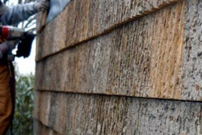 Simply Elegant Home Designs Blog Bark Siding
