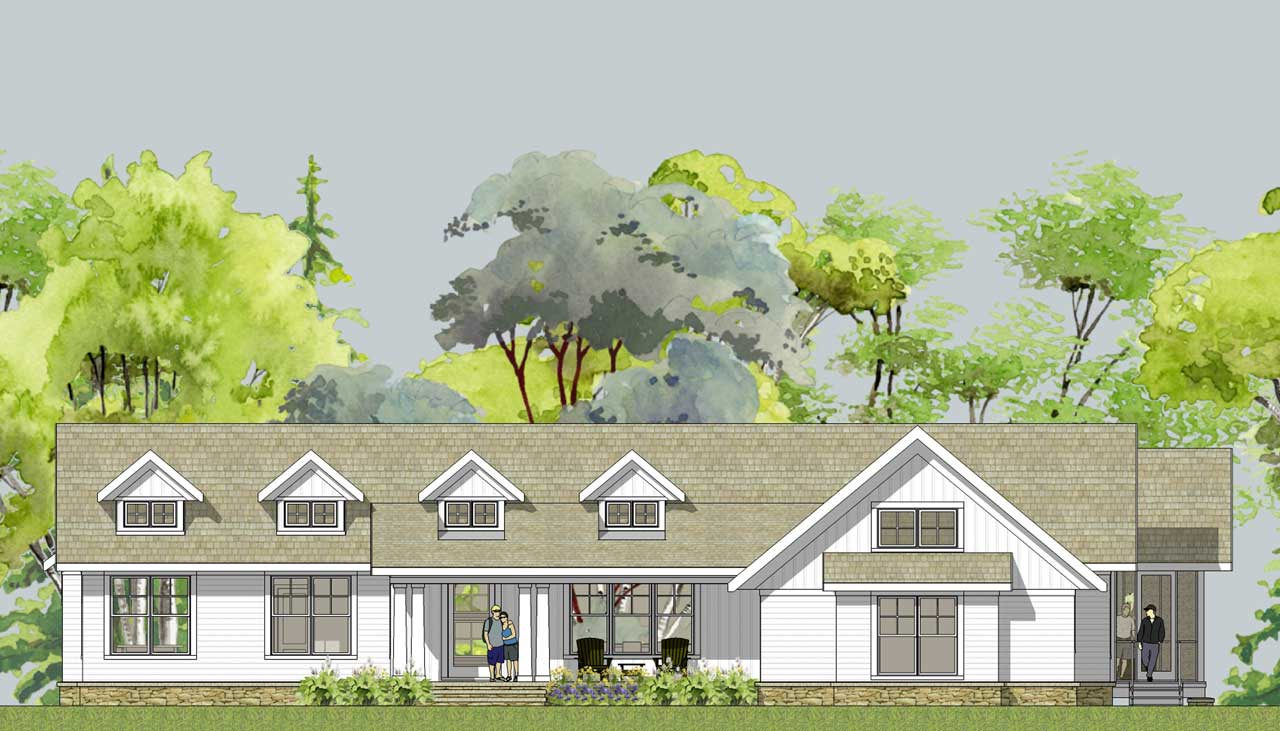 Simply elegant home designs blog january 2011 Modern farmhouse plans