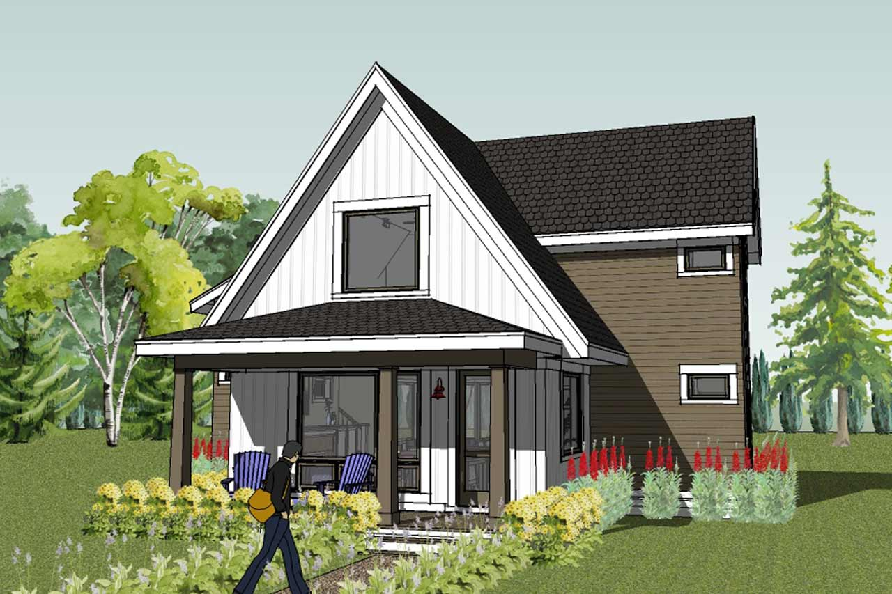 Simply elegant home designs blog worlds best small house Modern farmhouse plans