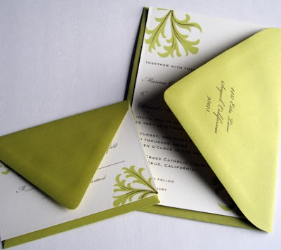Etsy Wedding Favors on Soiree Special Events  Etsy Find  Green   Brown Wedding Invitations