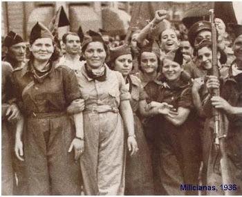 Milicianas na Revolução Espanhola