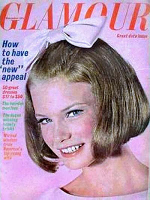 Glamour magazine cover girl, November 1964