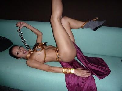 princess leia slave bikini. Princess Leia#39;s metal bikini