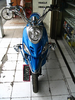 ide modifikasi mio chopper