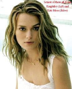 Sexiest of them all: Keira Knightley