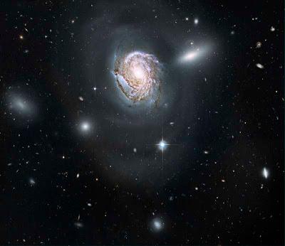 Foto da Galáxia NGC 491
