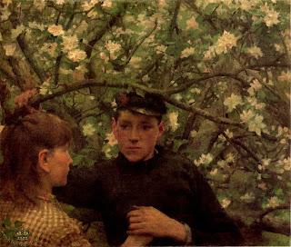 The Promise Henry Scott Tuke English Painter