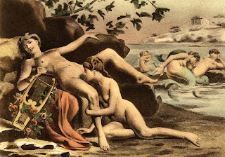 Sappho Édouard-Henri Avril sexuality homosexuality painting Safo pintura