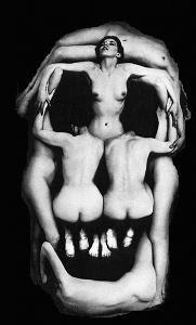 Philippe Halsman Salvador Dali pintura fotografia caveira