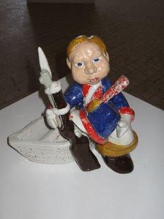 Soldadinho de Chumbo Imagem Escultura José Eliseu